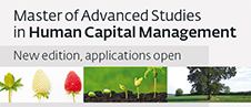 Master of Advanced Studies in Human Capital Management, new edition