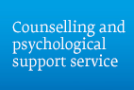 Counselling and psychological support
